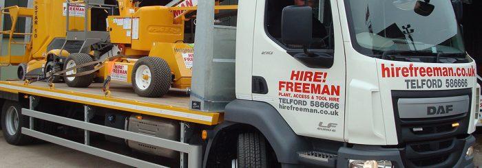 Hire Freeman Transporter