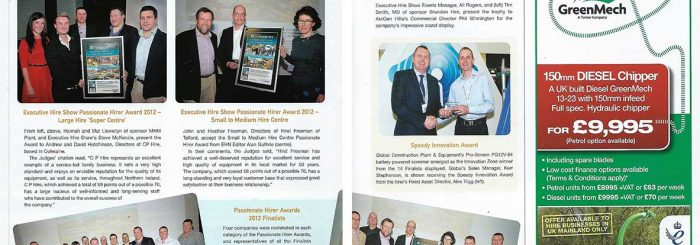 Executive Hire News March 2012