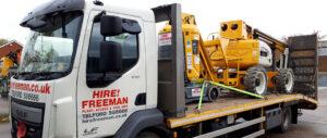 Hire Freeman Platform on Lorry