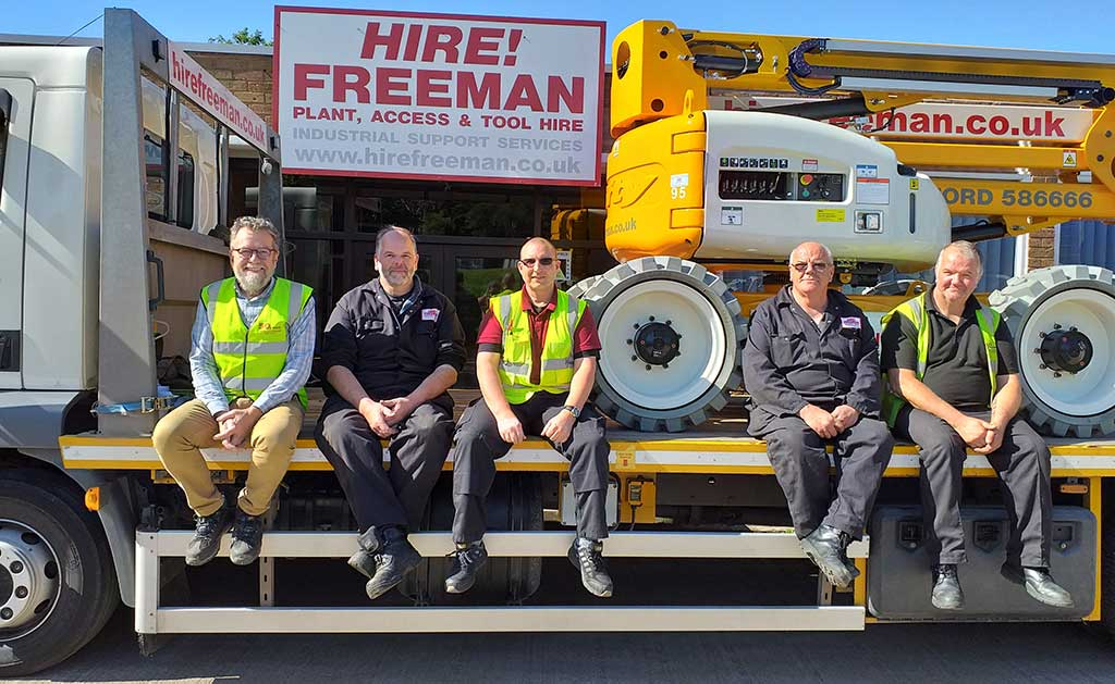 Hire Freeman Team