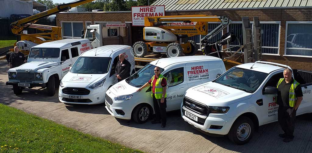 Hire Freeman Vehicle Fleet
