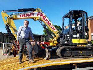 Hire Freeman - excavator