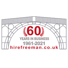 Hire Freeman Celebrate 60 years